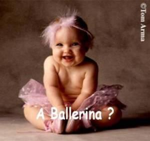 μωρό μπαλαρίνα